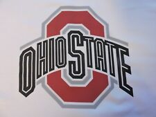 1 Ohio State Buckeyes Quilt Blocks SEWING BLOCK QUILT SQUARE Fabric Material Sew