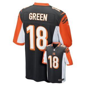 Cincinnati Bengals Youth Boys Nike AJ Green Jersey Size Large (14/16) - NWT