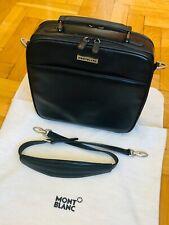 MONTBLANC *MST* Leder Laptop Tasche Aktentasche Business Bag NP2200€ 2329