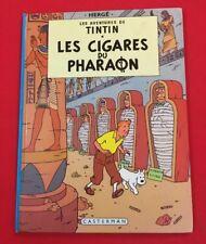 AVENTURAS TINTIN 4 PUROS EL FARAÓN 1984 CASTERMAN BUEN ESTADO BD BANDA COMIC