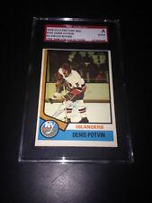 Denis Potvin Signed 1974-75 O-Pee-Chee Rookie Card OPC SGC Slabbed #AU146100