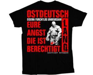 T-Shirt Ostdeutsch Angst - DDR / S - 5 XXXL / OSSI OSTEN HOOLIGAN  HEIMAT