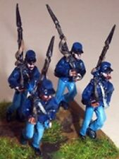 SGTS MESS US3 1/72 Die-Cast WWII US Union Soldiers Marching Rt Shoulder Shift-4