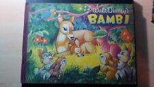 Album figurine Disney BAMBI EDITRICE Margriet 1953 COMPLETO ORIGINALE Bello.