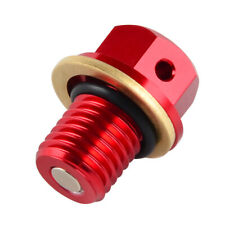 M12 Oil Drain Bolt Plug For Honda XR350 CR480 CR500 XR500 XR650L CR125R CR250R