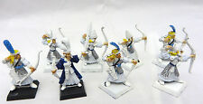 Warhammer High Elves  Warriors Archers army lot metal oop