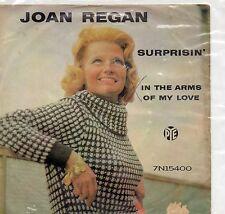 JOAN REGAN   SURPRISIN / IN THE ARMS OF MY LOVE     UK PYE PS  50s/60s POP