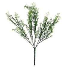 Flores secas y artificiales decorativas ramos color principal verde para el hogar
