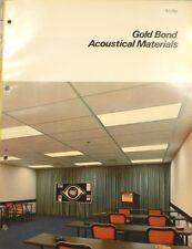 National Gypsum GOLD BOND Asbestibel Acoustic ASBESTOS