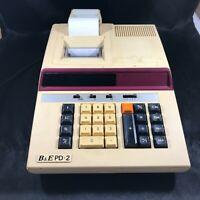 Vintage EIKO Business Machines Printing Calculator B & E PD-2