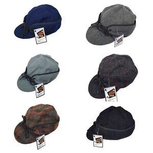 Wyoming Traders Fraser NO Fold Down Ear Flaps Australian Wool Cap Hat