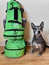 K9 Sport Sack Flex Dog Carrier Backpack (M to Xl, lime green)