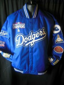 Los Angeles Dodgers Men's JH Design World Series2020 Commererative Champ Jacket