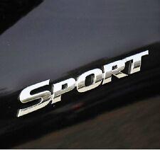 Car Chrome SPORT for SUV Highlander Truck Chrome side  Badge Emblem Sticker