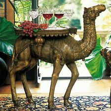 Sculpture Table Bronze Camel Lost Wax Method 300 Lbs
