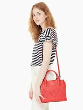 KATE SPADE NWT SMALL MERIWETHER FLYNN ST PRIKLY PEAR SATCHEL TOTE BAG LEATHER