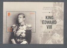 Jersey-King Edward VIII min sheet mnh-Royalty