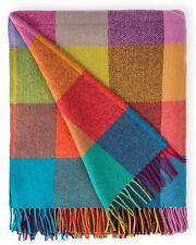100% Pure Wool Throw by Avoca (Design: Circus) - Made in Ireland
