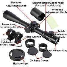 10-40X50 SWAT ZOS Rifle Scope Vector Optics Rifle Gun Hunting Scope Sight Side