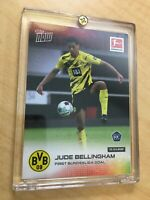 JUDE BELLINGHAM 2021 TOPPS NOW FIRST GOAL 10-4-2021 ROOKIE RC DORTMUND HOT!