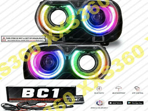 ORACLE for Dodge Challenger 15-20 Headlight DRL Upgrade Kit COLORSHIFT BC1