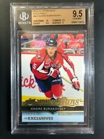 2014-15 Upper Deck Andre Burakovsky Young Guns Exclusives /100 Rookie BGS 9.5
