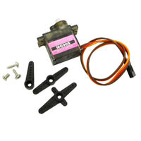 1-5× MG90S RC Metal Gear Servo High Speed Micro Motor für RC Robot Auto Flugzeug