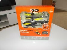OBJECT REMOTE CONTROL RC 2 CHANNEL HELICOPTER CHOPPER NEW & SEALED