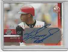 2003 UD SP AUTHENTIC CHIROGRAPHY SILVER VERSION GRIFFEY AUTO 18/25
