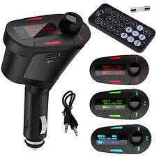 Car Kit MP3 Player Wifi FM Transmitter Modulator USB LCD Remote BE