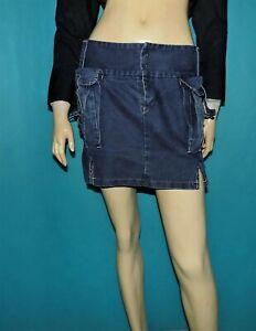 mini jupe MARITHE FRANCOIS GIRBAUD en jean Taille : 36 FR