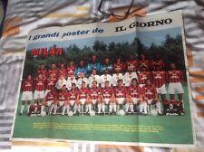 More details for ac milan poster rare item 1992/93