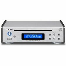 TEAC CD Player USB PD-301-S Silver