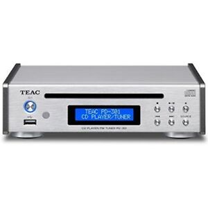 TEAC CD Player USB PD-301-S Silver