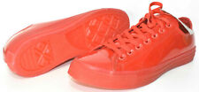 Converse Red All Stars Chuck Taylor Low Top Sneakers Unisex Mens 11 Womens 13
