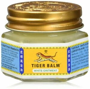Tiger Balm White 18g Herb Ointment Aches Pains Relief Massage Rub AU Stock
