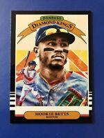 Mookie Betts 2019 Panini Donruss Optic Diamond Kings Boston Red Sox Card #1