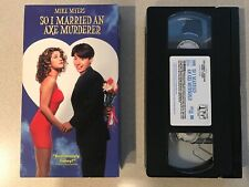 So I Married an Axe Murderer (VHS, 1997) Mike Myers, Nancy Travis