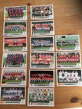 Panini Champions League 2000/2001 - 15 Team Stickers - Mint