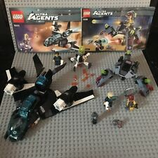 "LEGO Ultra Agents #70171 ""Ultrasonic Showdown"" & #70166 ""Spyclops Infiltration"""