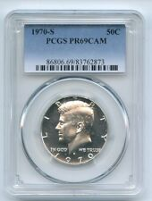 1970 S 50C Kennedy Half Dollar PCGS PR69CAM