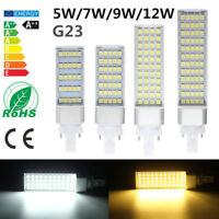 G23 LED 5W 7W 9W 12W 5050 SMD Lampen Leuchtmittel Glühbirne Deckenleuchte Licht