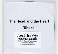(EF90) The Head and the Heart, Shake - 2013 DJ CD