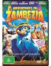Adventures In Zambezia (DVD, 2013) Regions 2,4