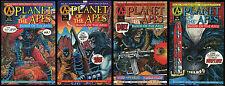 Planet of the Apes Blood of the Apes POTA Comic set 1-2-3-4 Lot Adventure Malibu