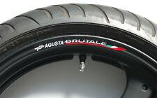 MV AGUSTA BRUTALE WHEEL RIM DECALS 990r 1078rr 1090rr r