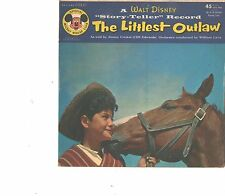 WALT DISNEY--PICTURE SLEEVE  45--(LITTLEST OUTLAW)--PS--PIC--SLV