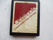 OLDSMOBILE COMPLIMENTARY CARTRIDGE 8 TRACK TAPE STREISAND/DAVIS/PRICE/MATHIS