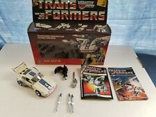 Transformers G1 Jazz - Complete Box, Instructions - Hasbro, Vintage