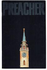 PREACHER #1 GERMAN DELUXE DIE-CUT LTD 100 VARIANT ENNIS DILLON AMC TV FN/VF RARE